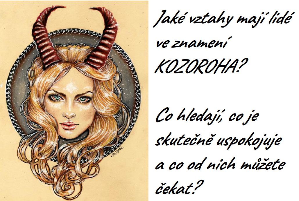 0f7ed5d1e Jaké vztahy mají lidé ve znamení KOZOROHA? Co hledají, co je ...